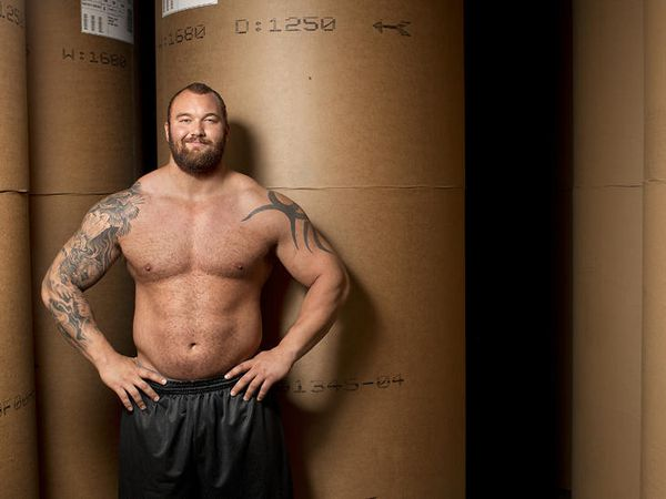 Hafþór Júlíus Björnsson wants to donate money to charity.