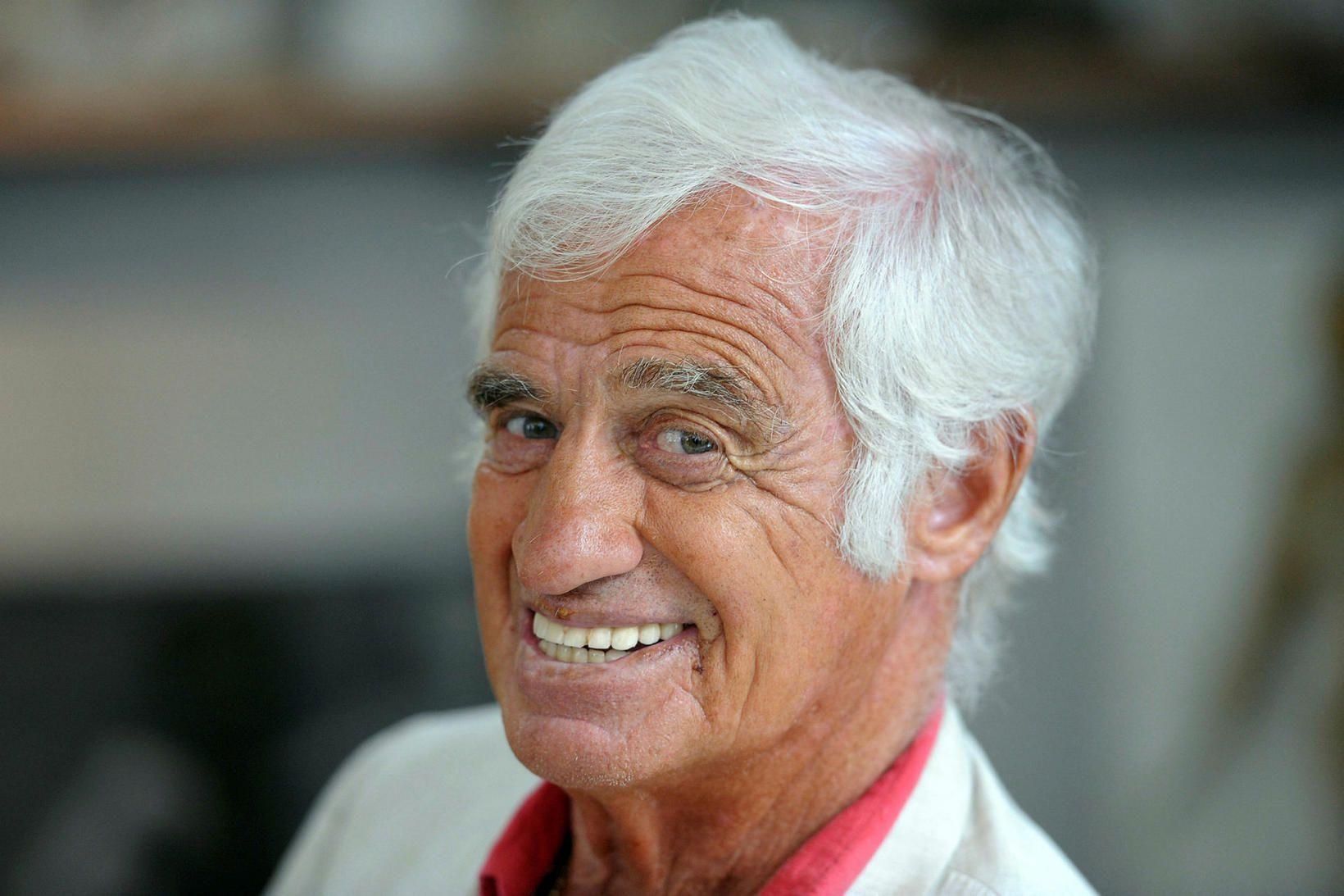 Jean-Paul Belmondo er látinn, 88 ára að aldri.
