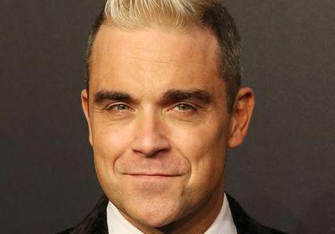 Robbie Williams er í jólastuði.