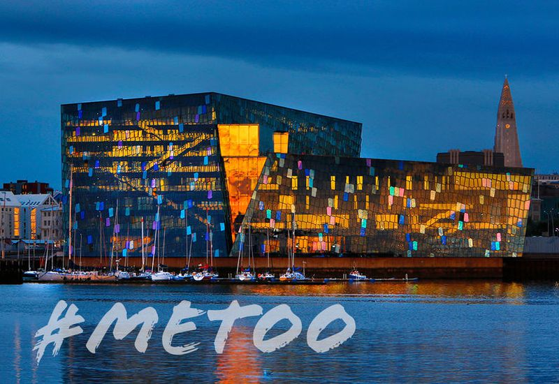 The conference takes place at Harpa Concert Hall.