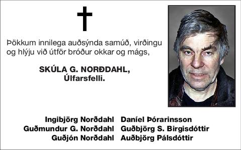 Skúla G. Norðdahl,