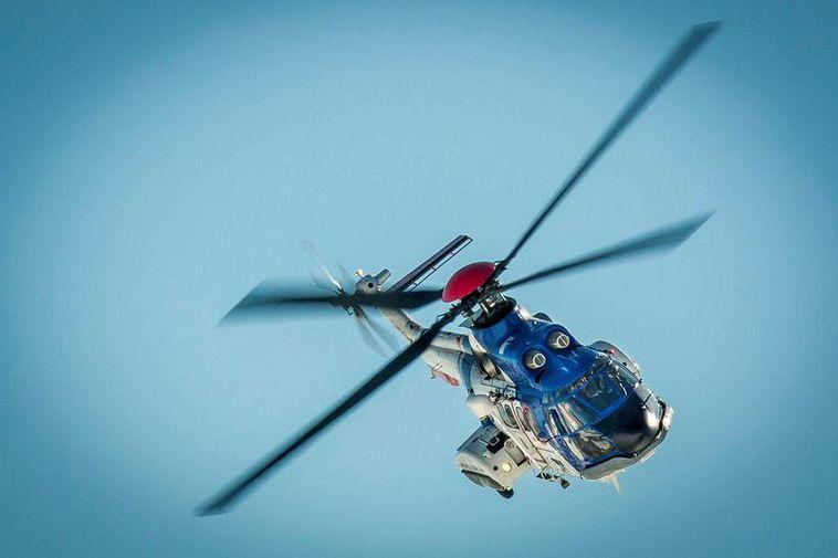 Icelandic Coast Guard Helicopter.