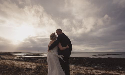 The couple felt a connection to Iceland, so strong that they dropped plans for a wedding in New Orleans to exchange vows in Iceland