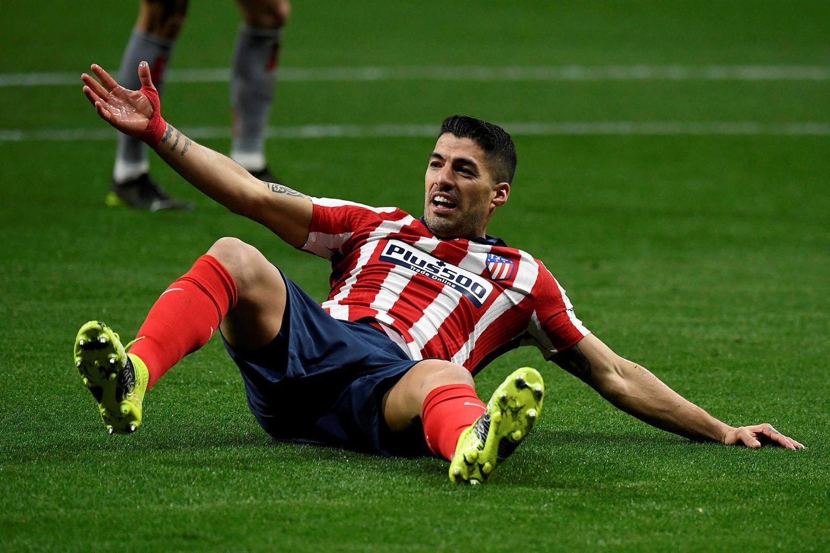 Luis Suárez, leikmaður Atlético Madríd.