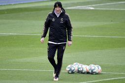 Zinedine Zidane er knattspyrnustjóri Real Madríd.