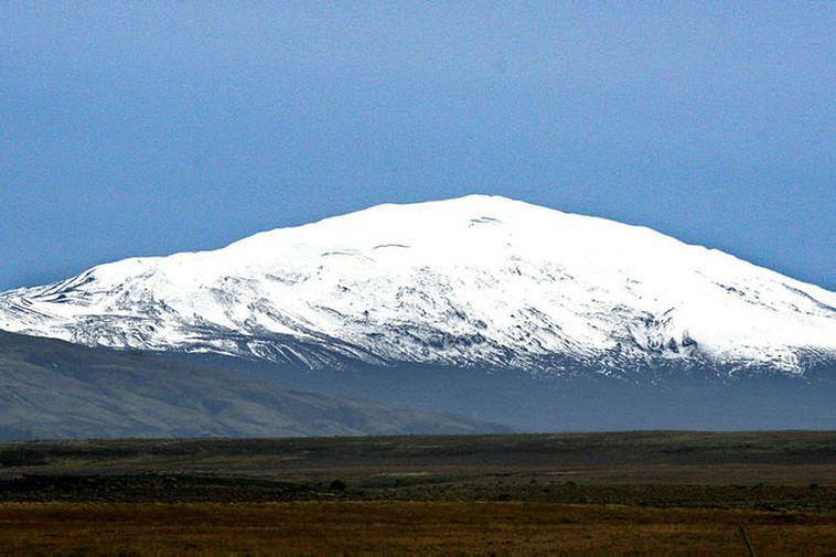 Hekla volcano, South Iceland.