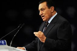 Hosni Mubarak, fyrrverandi forseti Egyptalands.