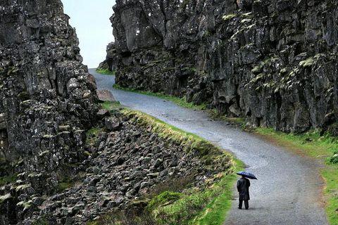 Almannagjá at Þingvellir