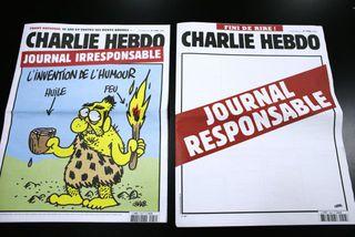 Útgáfa Charlie Hebdo sem gerði allt vitlaust