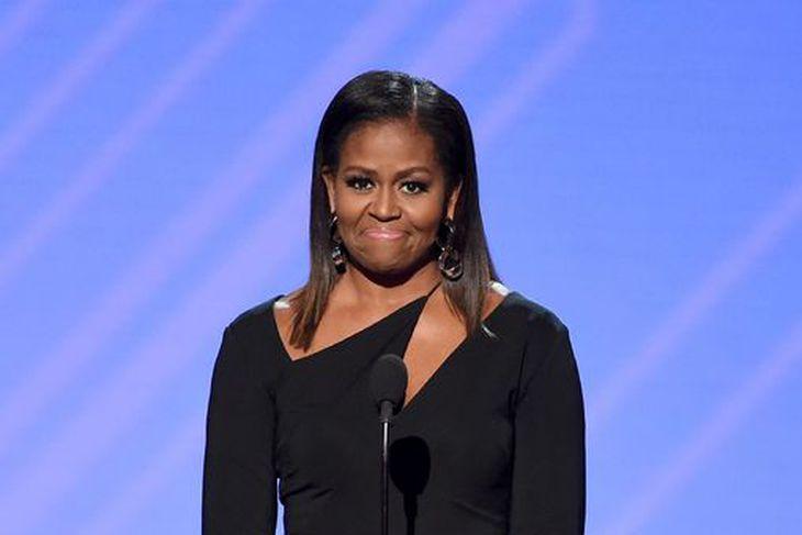 Michelle Obama er alltaf glæsileg.