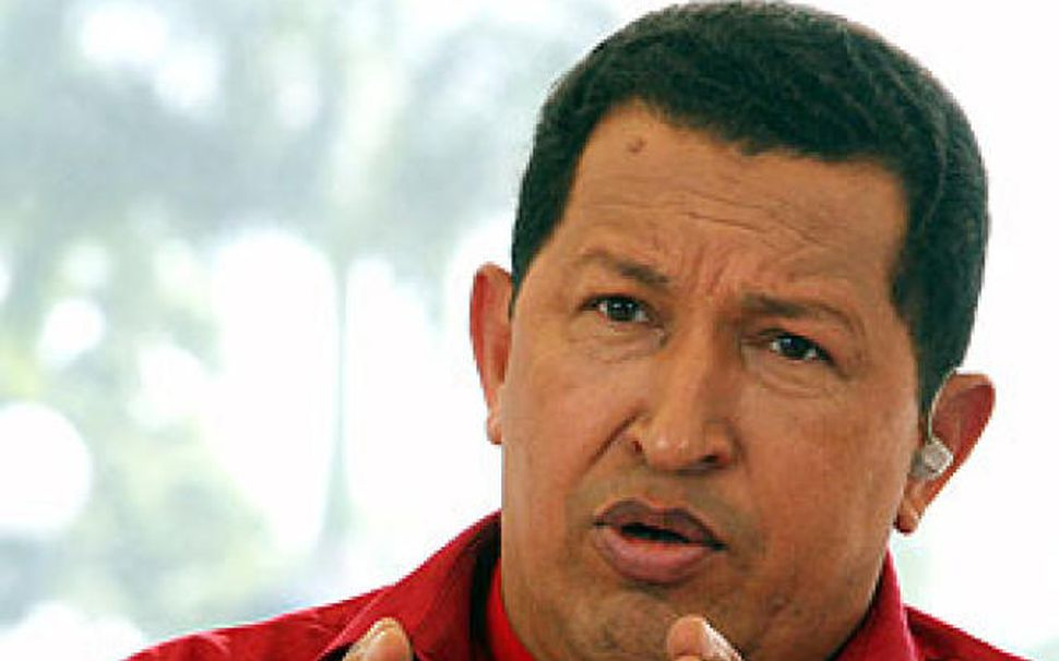 Hugo Chavez, forseti Venesúela.