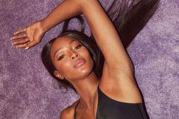 Naomi Campbell heldur sér í formi.