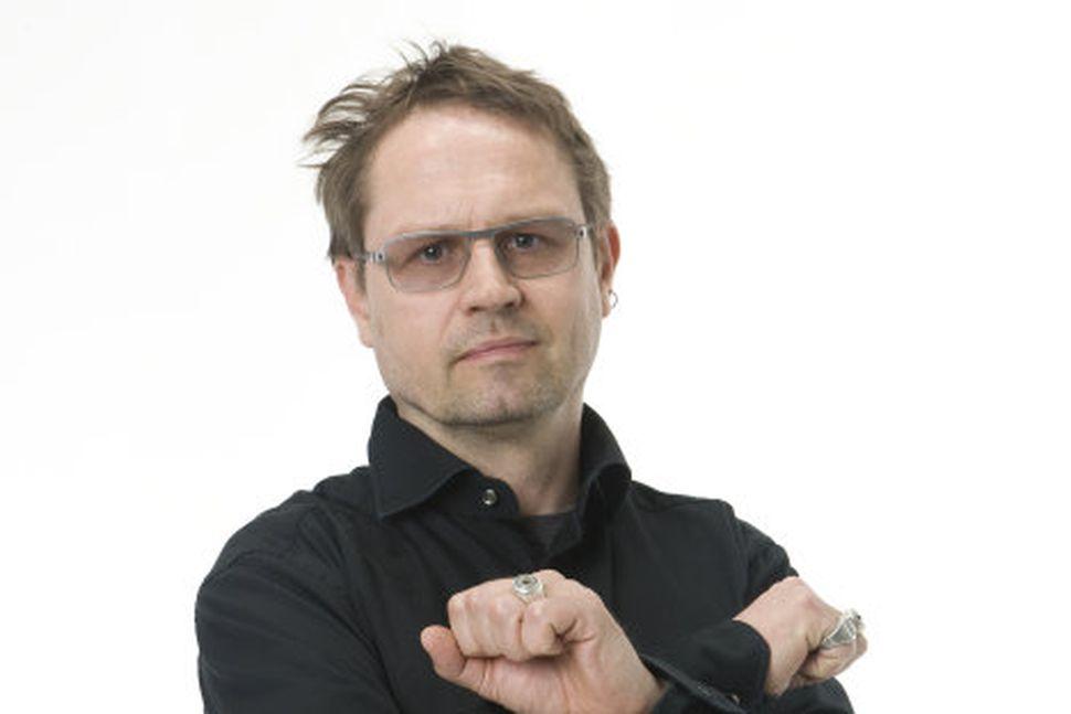Einar Örn Benediktsson borgarfulltrúi Besta flokksins.