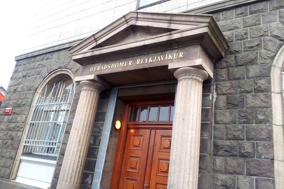 Hart var tekist á í héraðsdómi Reykjavíkur í morgun.