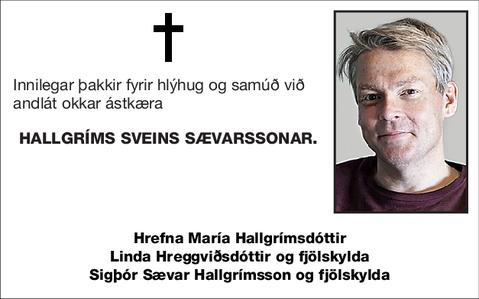 Hallgríms Sveins Sævarssonar.