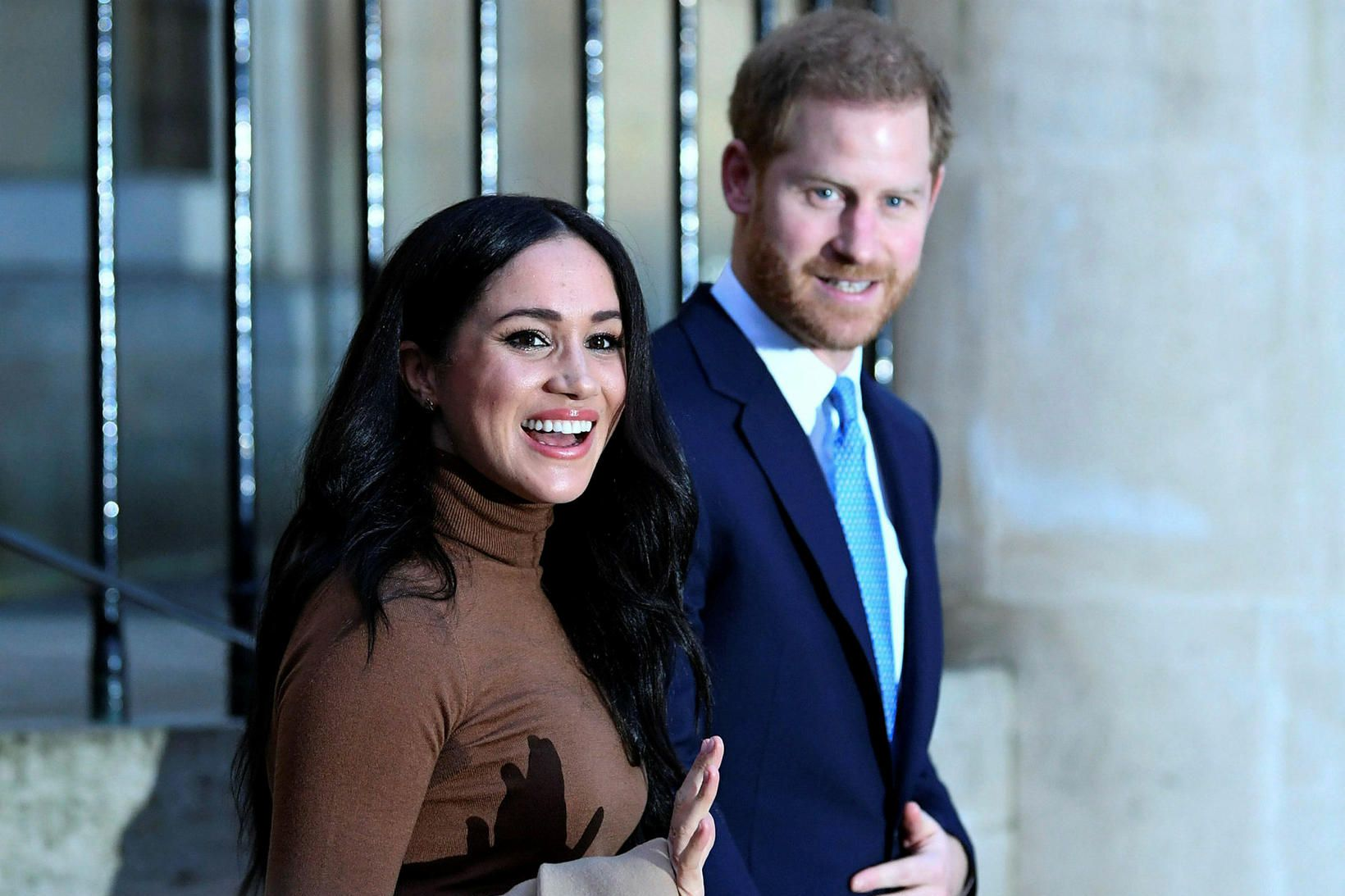 Meghan Markle og Harry prins.