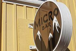 Microbar er staðsettur á Vesturgötu rétt við Ingólfstorg og við hliðina á Sæta svíninu.