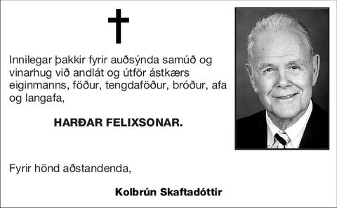 Harðar Felixsonar.