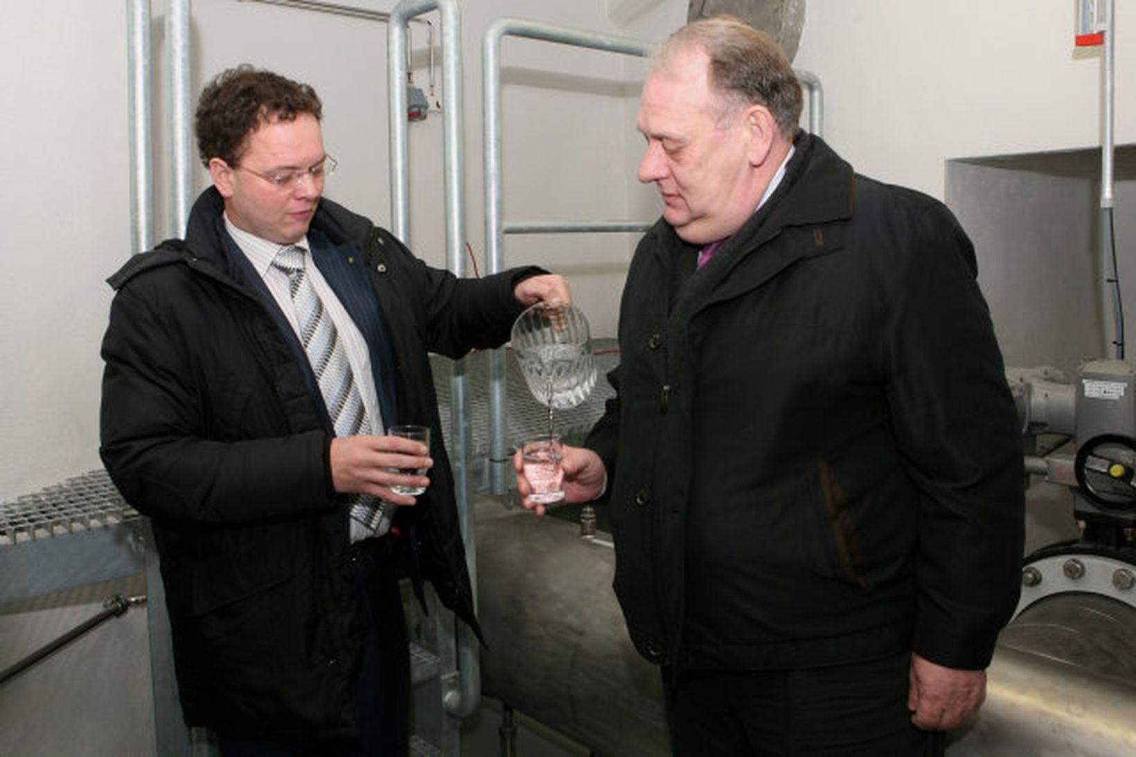 Ómar Stefánsson, formaður bæjarráðs Kópavogs, og Gunnar Birgisson, bæjarstjóri.