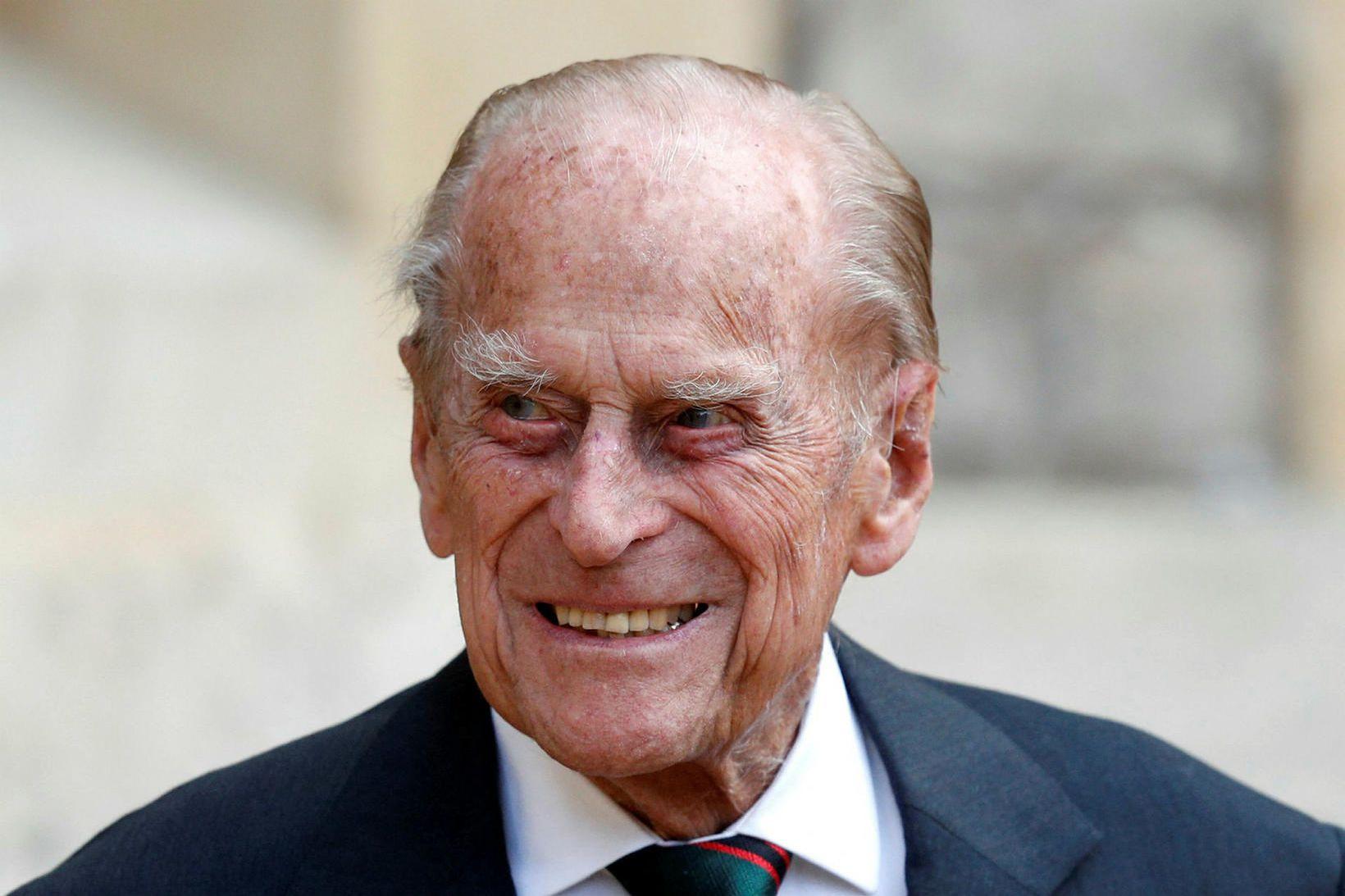 Filippus prins árið 2020.