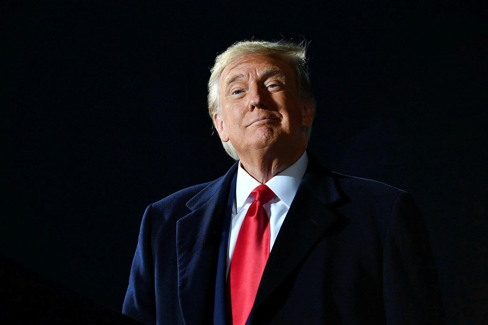 Donald Trump Bandaríkjaforseti er meðal 318 manna sem voru tilnefndir …
