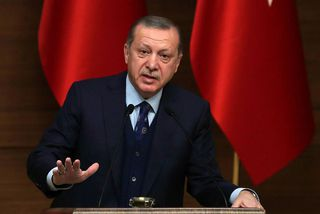 Recep Tayyip Erdogan forseti Tyrklands.