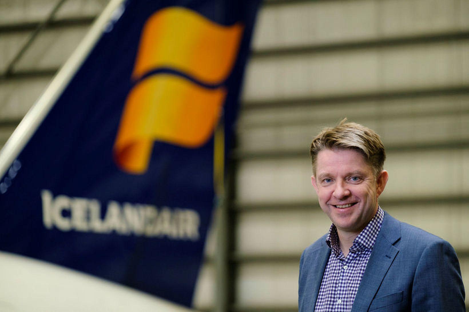 Bogi Nils Bogason forstjóri Icelandair segir erfitt rekstrarár að baki.
