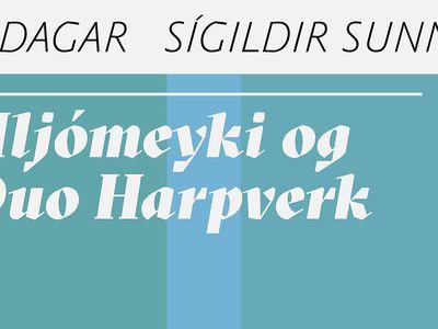 Hljómeyki og Dúó Harpverk - Classical Sundays