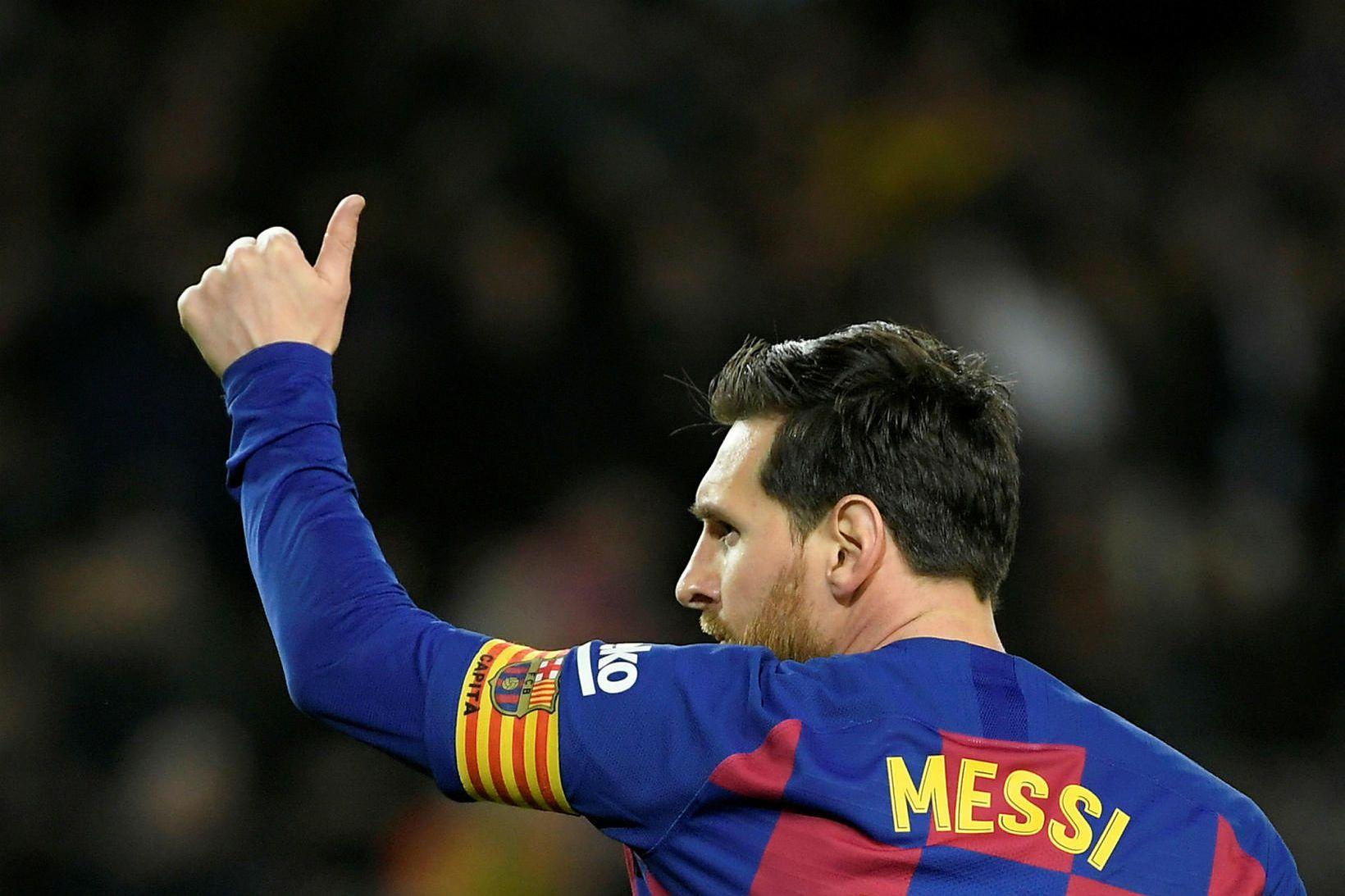 Lionel Messi hefur staðfest launaniðurskurðinn.