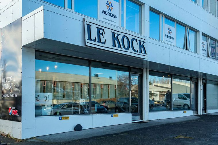 Le Kock is famed for its gourmet hamburgers.