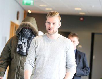 Sindri Þór Stefánsson, einn hinna ákærðu.