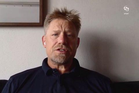 Schmeichel við Tómas: Þetta er harkalegt fyrir þá núna