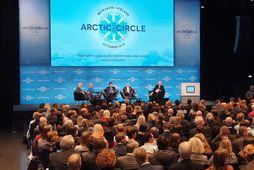 Ráðstefnan Arctic circle var sett í Hörpu í dag.