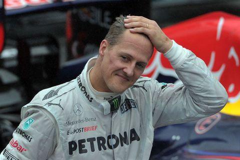 Michael Schumacher lenti í alvarlegu slysi rétt fyrir árslok 2013.