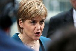 Nicola Sturgeon, forsætisráðherra heimastjórnar Skotlands.