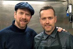 Jóhannes Ásbjörnsson og Eyþór Rúnarsson.