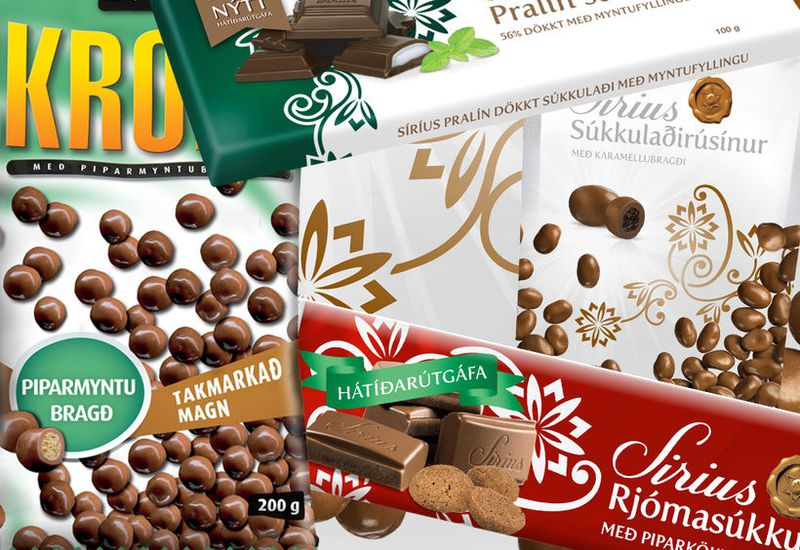 New products by Nói Siríus.