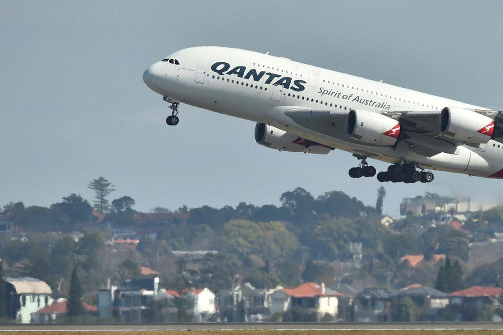 Vél Qantas.