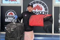 Valgeir Gunnlaugsson gaf starfsfólki Landspítalans 40 pizzur í hádeginu í dag og hvetur fleiri fyrirtæki …