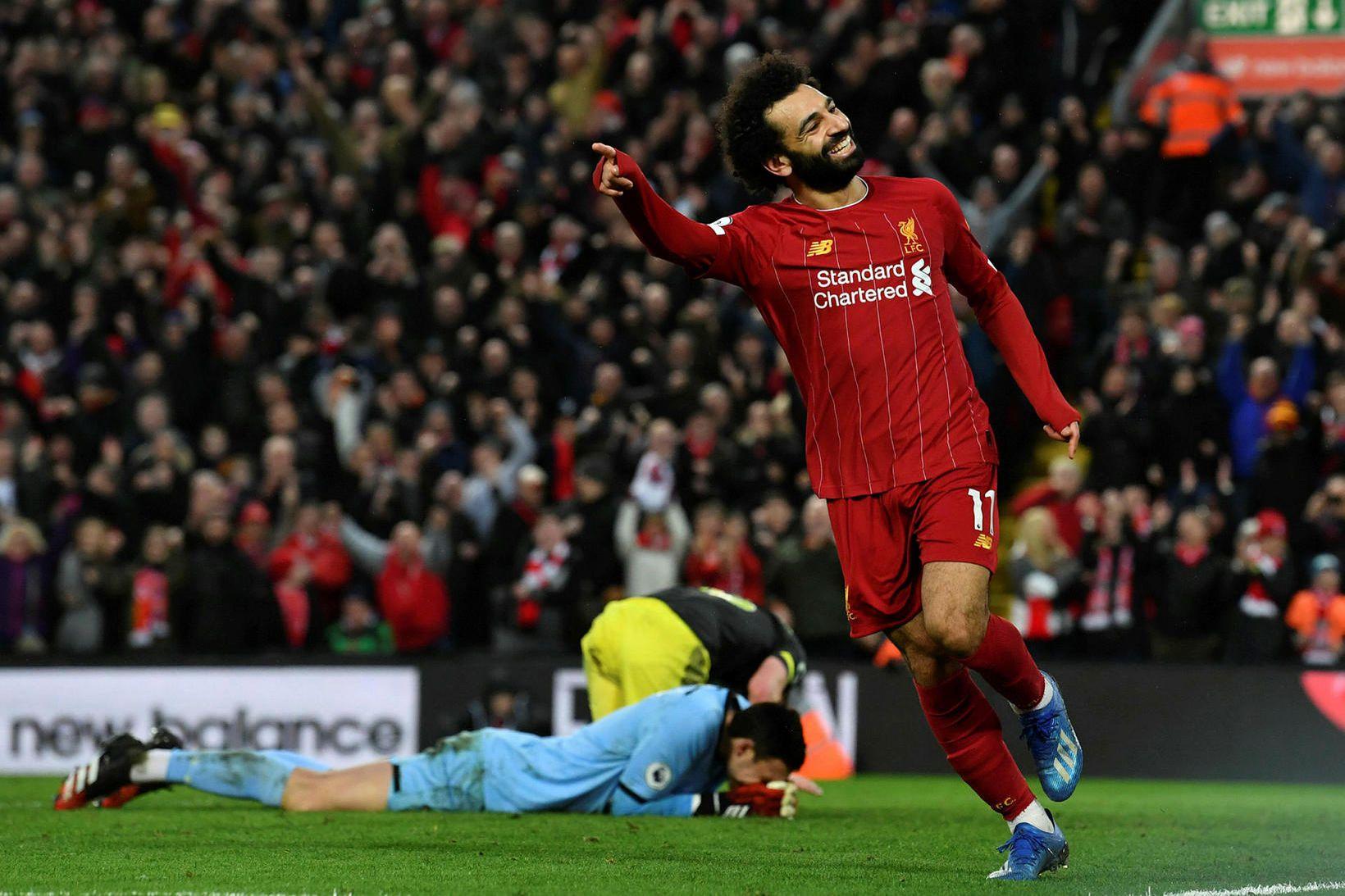 Mohamed Salah gæti farið á Ólympíuleikana í sumar.