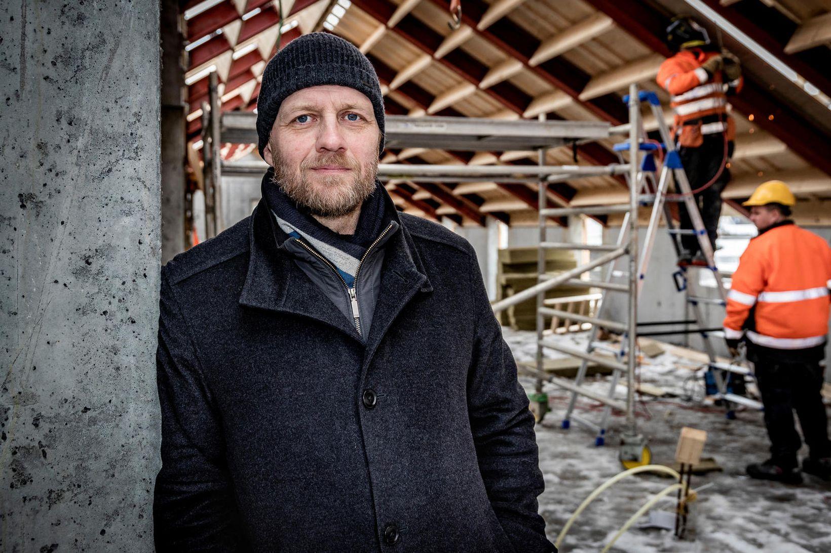 Þorvaldur Gissurarson, forstjóri ÞG verk.