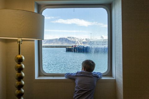 The Ocean Diamond offers cruises around Iceland this summer.