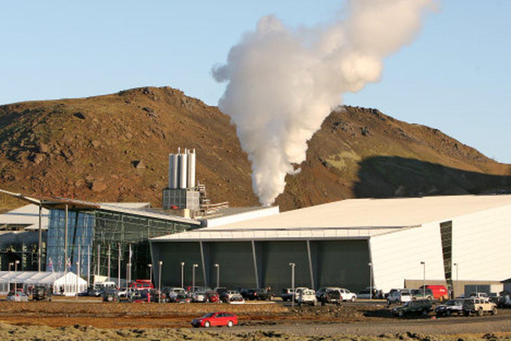 Stöðvarhús Hellisheiðarvirkjunar.