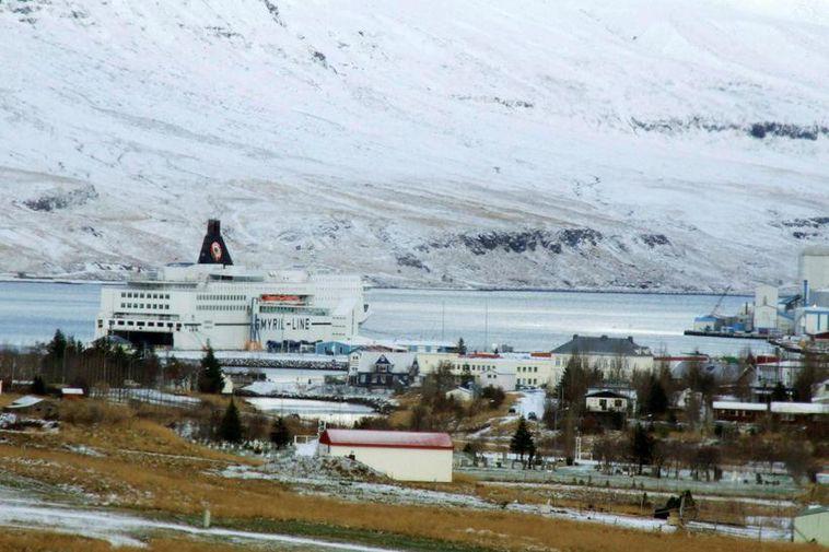 Norræna at Seyðisfjörður
