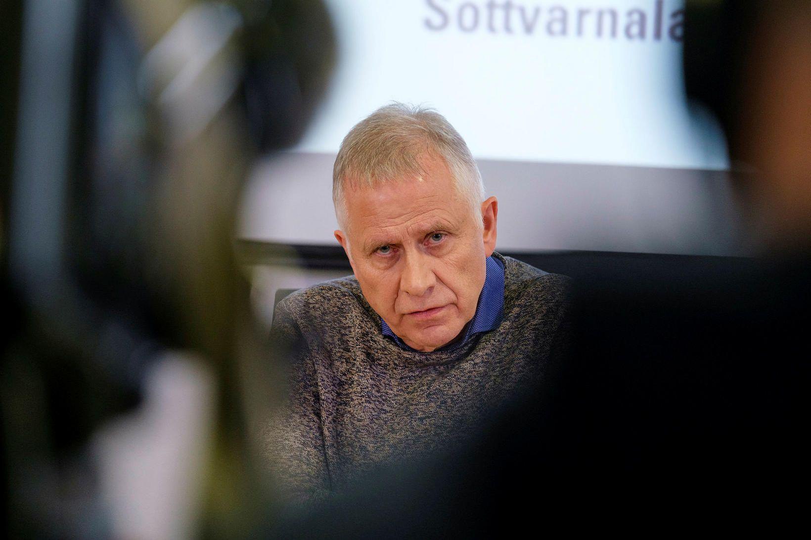 Þórólfur Guðnason, sóttvarnarlæknir.