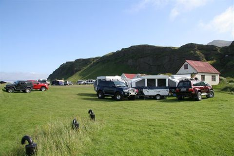 Hamragarðar Camping site