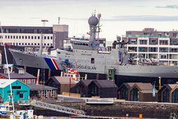 Varðskipið Týr hefur verið í Slippnum í Reykjavík að undanförnu. Unnið er að viðgerðum og …