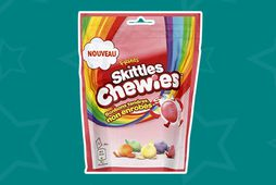 Chewies er splunkunýtt frá Skittles!