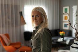 María Kristín Örlygsdóttir hefur búið sér fallegt heimili.