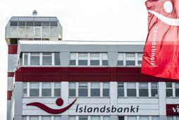 """""""Íslandsbanki lítur málið alvarlegum og hyggst bankinn óska eftir lögreglurannsókn á því eftir hvaða leiðum …"""